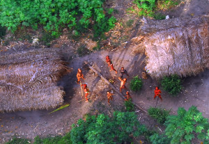 Unknown Amazonian tribe had it's first contact with civilization